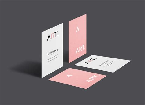vistaprint psd vertical business card template vertical business card mockup psd gallery card design