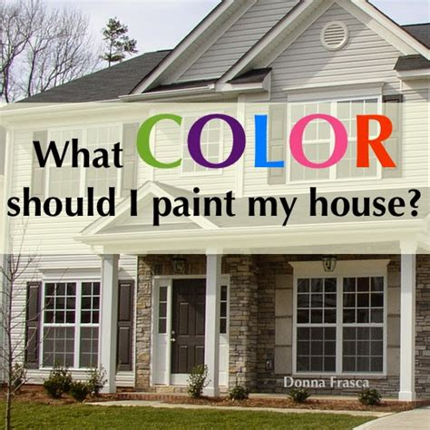 a color specialist in what color should i paint my house