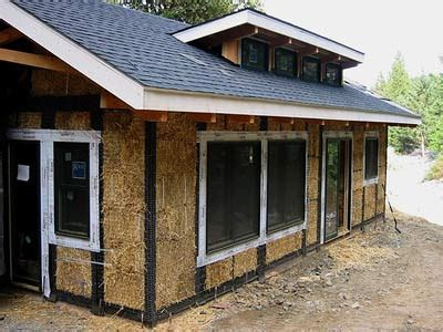 hay bale house plans straw bale houses howstuffworks