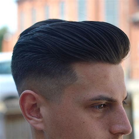 pomp hairstyle side combed hair hairstyle the side slick comb