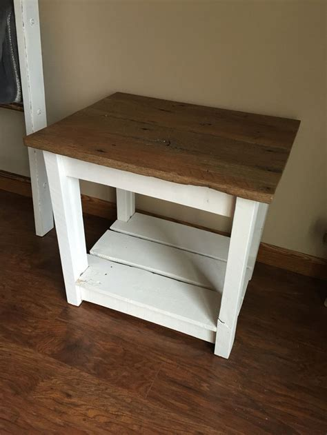 farmhouse style end tables 1000 ideas about rustic end tables on end