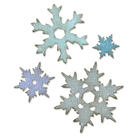 Dies Sizzix For Leather Fabric Carnation Stack 660052 sizzix bigz l die stacked snowflakes by tim holtz country view crafts
