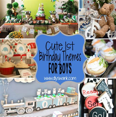 10 1st birthday party ideas for boys part 2 tinyme party ideas and themes archives diy swank