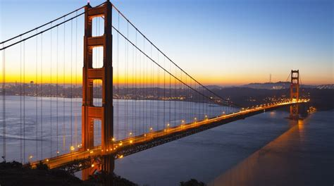 what color is the golden gate bridge five great books set in san francisco tripfiction