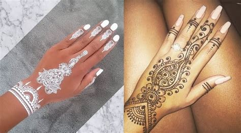 astonishing henna tattoos designs