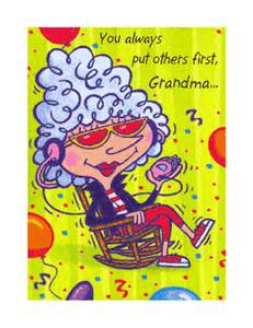 quot relax and enjoy grandma quot birthday printable card