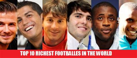 top 10 richest in the world 2013 dianneebue s world s highest earning football players in 2014