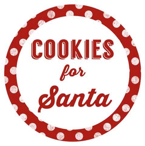 cookies for santa jar gift