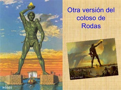 el coloso de nueva las siete maravillas del mundo antiguo