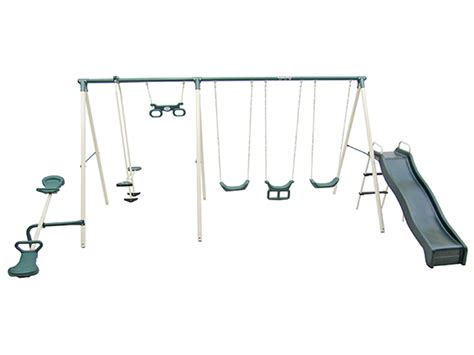 flexible flyer fun fantastic ii swing set flexible flyer swing sets