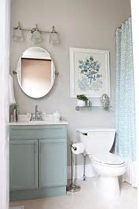Small Bathroom Mirror Ideas by Sweet Ava Kate Updated Bathroom Mirrors