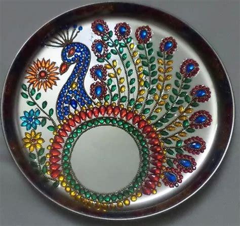 decorative aarti thali online 194 best aarti thali pooja thali decoration images on