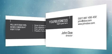 300 Dpi Business Card Template by Free Crispy Business Card Template Psd Titanui