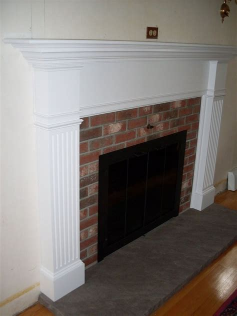 Brick Fireplace Surround Designs by Pin By Therkelsen On Cape Style House