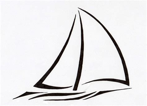 minimalist boat drawing 17 best ideas about sailboat tattoos on pinterest tiny