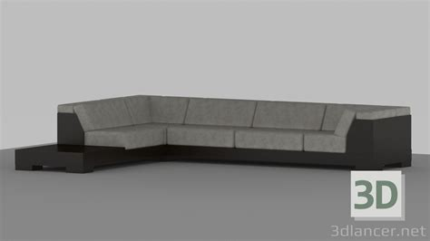 high tech sofa 3d model sofa by trs in the style of high tech id 15578