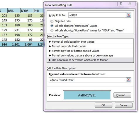 excel 2007 pivot table format changes on refresh re apply pivot table conditional formatting yoursumbuddy