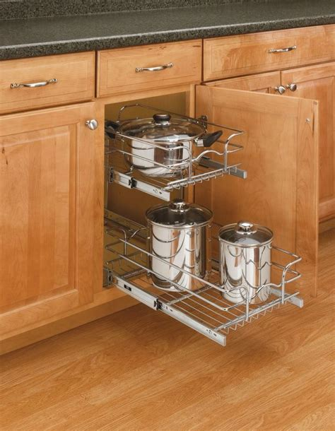Rev A Shelf by Rev A Shelf 5wb2 1222 Cr Chrome Chrome Wire Basket