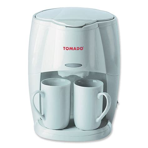 2 kops koffiezetapparaat tomado 2 kops koffieapparaat ontwerp keuken accessoires