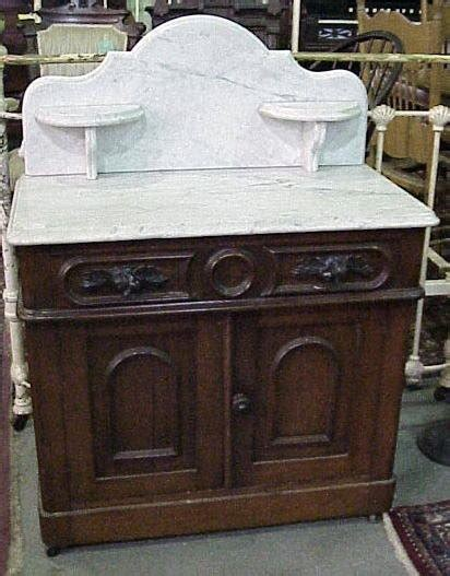 vintage marble topped washstand black walnut marble top washstand commode for sale antiques classifieds