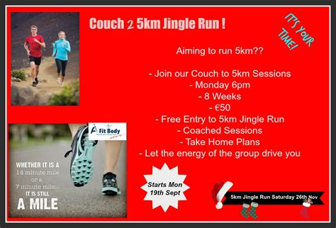 couch to 5km couch to 5km jingle run running group afitbody gym