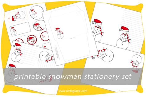 printable snowman stationery art every day month 18 free printable snowman stationery