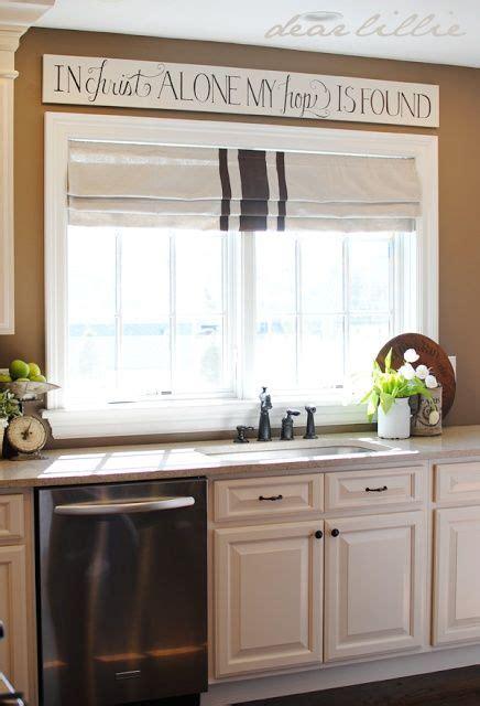 kitchen sink window treatment ideas 1000 ideas about kitchen window curtains on
