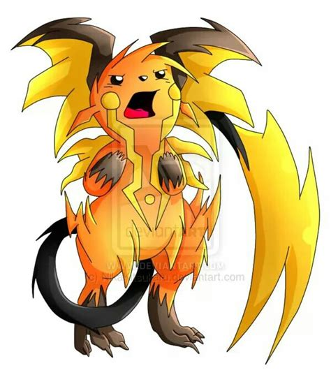 26 raichu pokemon mega evolve pokemon pinterest
