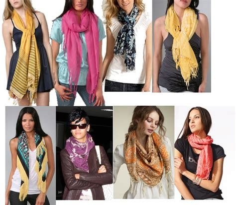 how to wear a scarf different styles