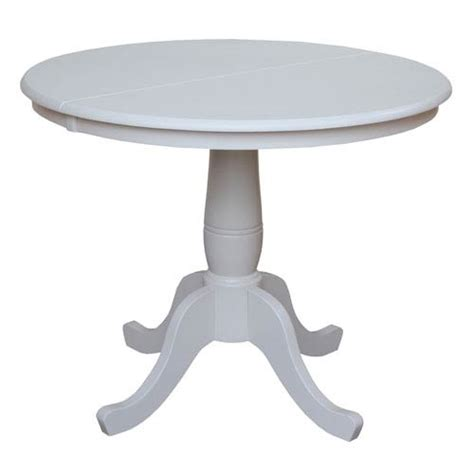 36 Inch Pedestal Dining Table 984k3136rxt 055