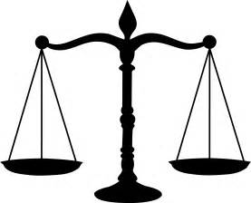 legal scales black silhouette free clip art