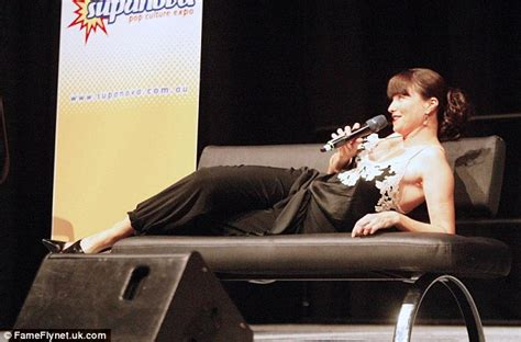 lucy lawless how old is she xena star lucy lawless leads charge at supanova pop