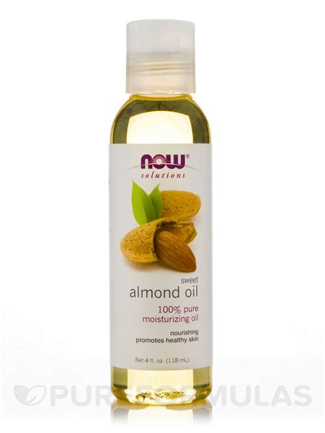 Sweet Almond Now Foods 118ml sweet almond now 174 solutions sweet almond 4 fl