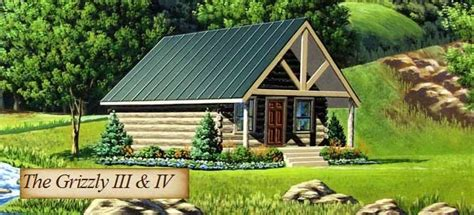 Ft Plans The Grizzly 3 And 4 Model Log Home From Cabela