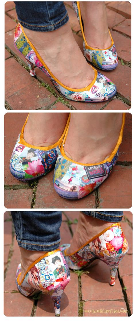 Decoupage Shoebox - how to decoupage shoes creative gift ideas news at