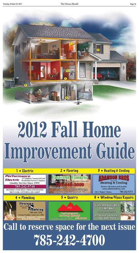 10 23 2012 fall home improvement by the ottawa herald issuu
