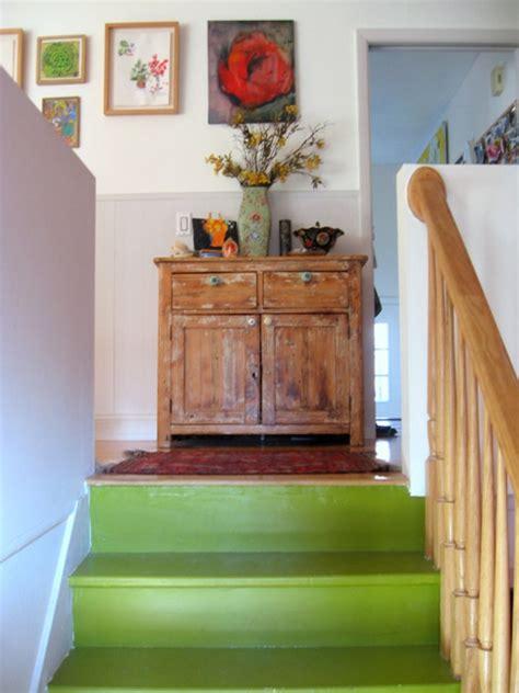 moderne haustüren design treppe streichen