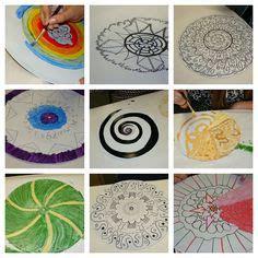 mandala tattoo künstler radial design mandala lesson plan art lesson painting