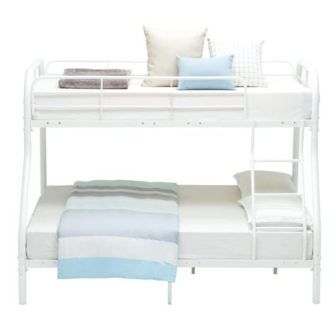 dorm loft beds twin over full metal bunk beds kids teens dorm bedroom