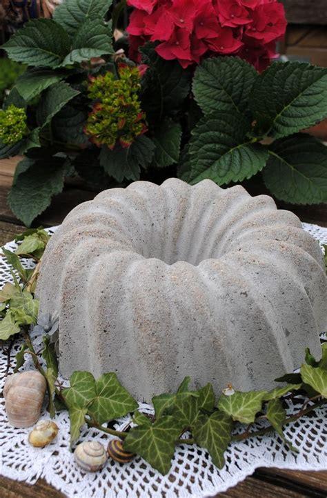 gartendeko winter selber machen gartendeko selbstgemachtes aus zement selber