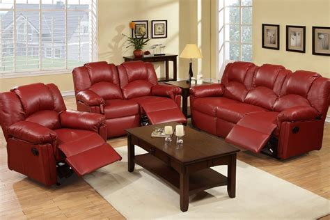 red living room sets reclining sofa sets sale red reclining living room sets