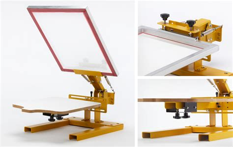 screen printing machine for t shirts screen printing table