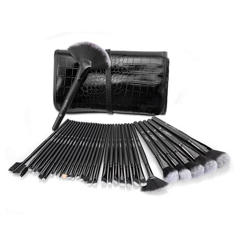Professional Cosmetic Make Up Brush 32 Set With Kuas Make Up uspicy make up brushes set 32 essential professional
