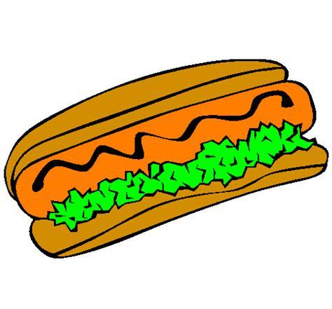 imagenes de un hot dog dibujos de un hot dog imagui