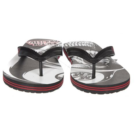 metal mulisha sandals metal mulisha flip flops boomer sandal bk rd buy