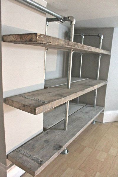 Cheap Black Bookcase 59 Diy Shelf Ideas Built With Industrial Pipe Simplified