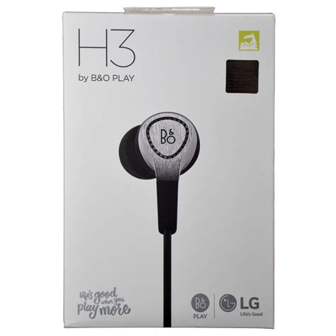 Olufsen B O Play H3 Earphone lg b o play by olufsen beoplay h3 in ear headphones w mic remote silver ebay