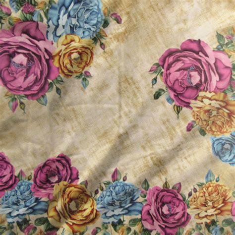 Elzatta Selma Mahdiya detail kerudung segi empat motif bunga kaila linza