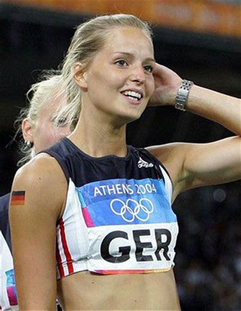 Sina Schielke , German sprinter.   health and sports   Pinterest   Tartan