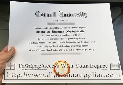 Ecornell Mba by How To Buy Cornell Diploma